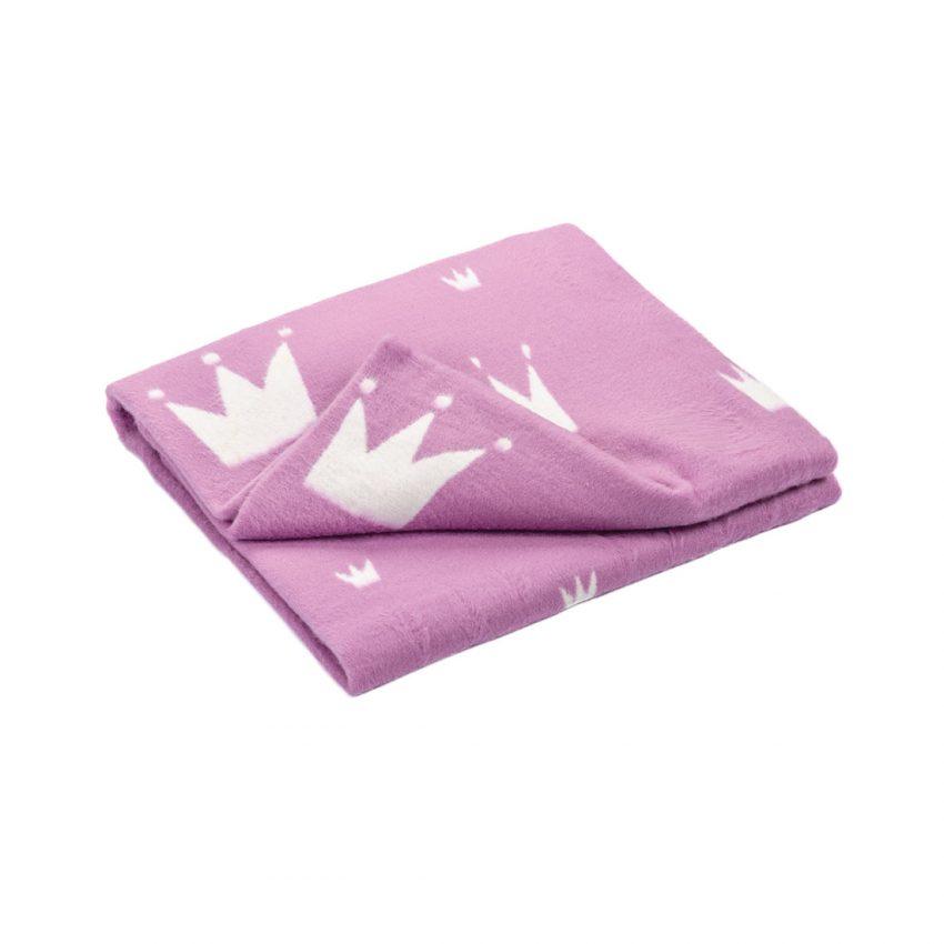 """Байковое одеяло """"Короны"""""""