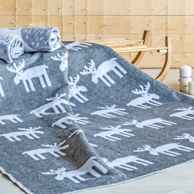 """Одеяло байковое """"Олени"""""""
