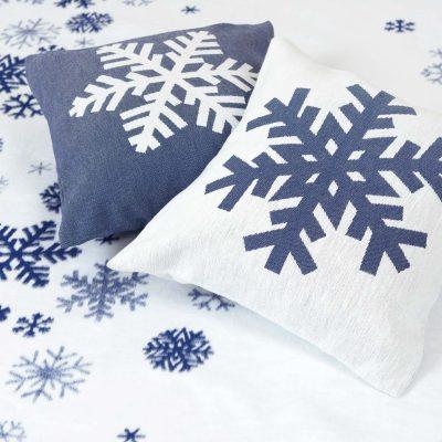 """Чехол на подушку """"Снежинка"""""""