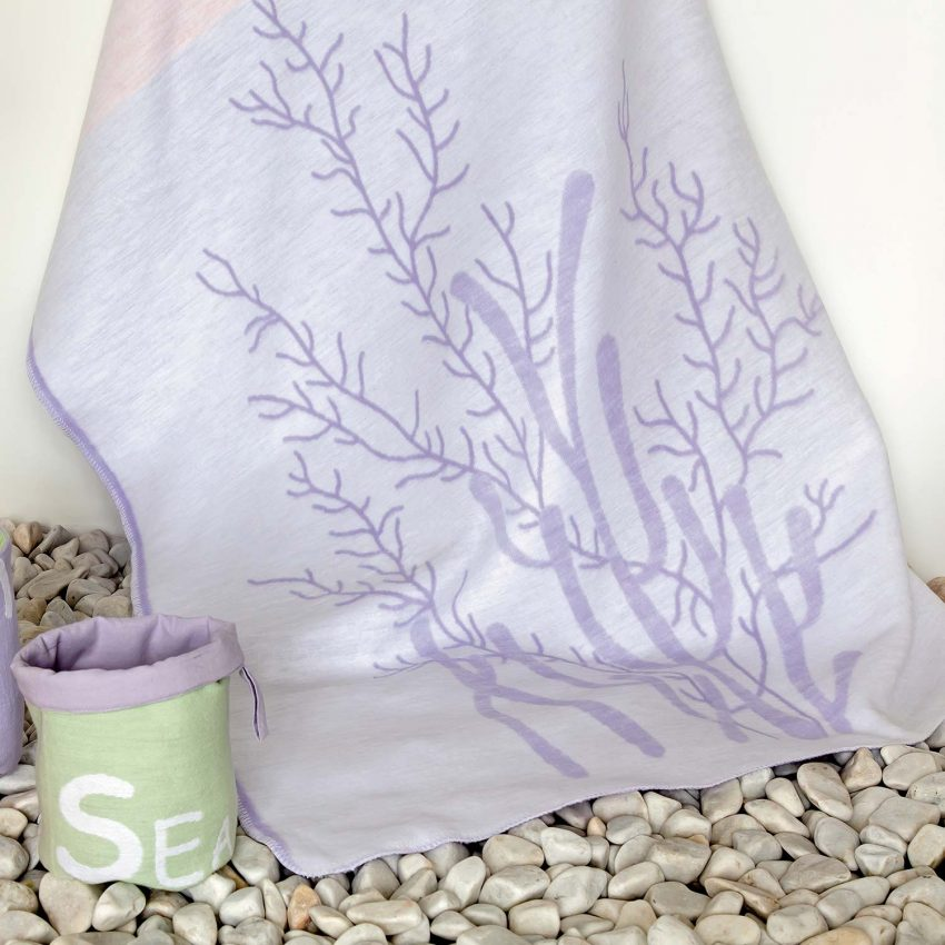 Байковое одеяло Рыбки