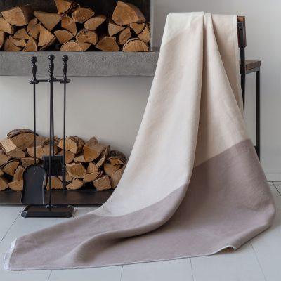 Байковое одеяло премиум Гамма